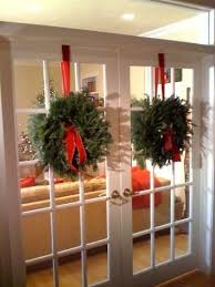 wreaths on french doors | French Doors