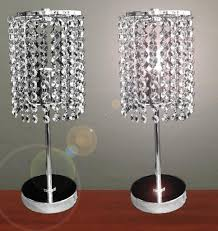 bedside table metal crystal bedside table lamps vintage