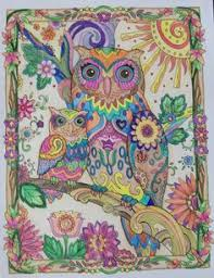 8 Best Owl Coloring Book Images Owls Barn Owls Adult Coloring