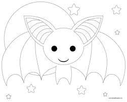 Disegni Da Colorare Di Halloween Di Pipistrelli Fredrotgans