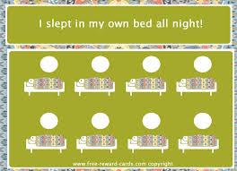 Reward Card Sleep In Own Bed Website
