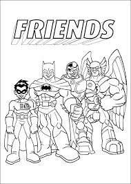 Small Picture DC Super Heroes Coloring Pages Bestofcoloringcom