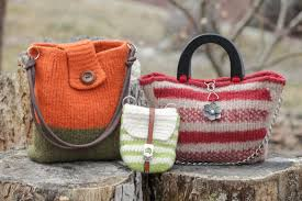 Handbag Patterns Adorable LOOM KNIT HANDBAG PATTERNS LOOM KNIT PURSE LOOM KNIT TOTE FELTED