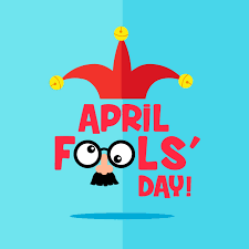 Flat Style April Fool's Day Card with Mask 833322 Vector Art at Vecteezy
