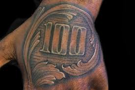 Gambling Money Tattoo On Man Left Hand Tattoo Ideas Money Tattoo