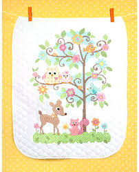 Baby Boy Cross Stitch Quilt Kits Bucilla Cross Stitch Quilts ... & ... Walmart Dimensions Baby Hugs Happi Tree Quilt Stamped Cross Stitch Kit  X Cross Stitch Baby Quilts ... Adamdwight.com