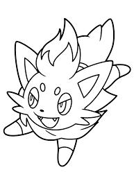 Kleurplaten Pokemon Zoroark