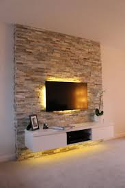 17 best ideas about tv feature wall on media