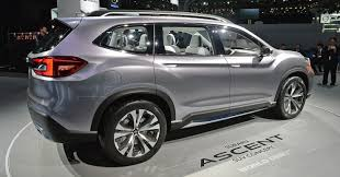 2018 subaru new suv. wonderful subaru side view 2018 ascent suv on subaru new suv