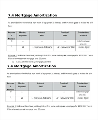 Amortized Schedule Excel Lease Amortization Schedule Excel Mortgage Amortization Schedule
