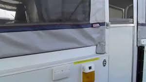 Shower Toilet Combo 2004 Coleman Niagara Slideout Shower Toilet Tent Trailer Youtube