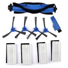 <b>Robotic Vacuum Cleaner</b> Filters Side Brushes <b>Rolling</b> Brush Kit ...