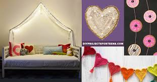 cool diy room decor ideas for teen girls bedrooms