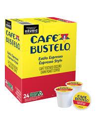 Try starbucks premium instant coffee! Cafe Bustelo Single Serve Coffee K Cup Espresso Roast Carton Of 24 Office Depot