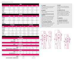 Craft Cycling Size Chart Size Chart
