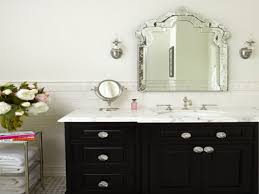 Bathroom: Brushed Nickel Wall Mirror | Oval Mirrors For Bathroom ...