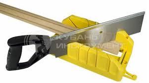 <b>стусло</b> пластмассовое с <b>ножовкой stanley</b> 350мм 1-19-800 ...