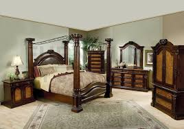 king bedroom sets. Traditional Bedroom Design With 5 Piece Montecito Cal King Size Set, California Canopy Sets