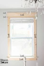 Best  Window Moldings Ideas On Pinterest - Interior house trim molding