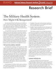 The Military Health System R