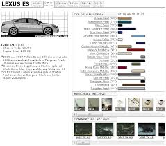Lexus Es Paint Codes Media Archive Clublexus Lexus Forum