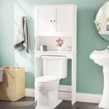 bathroom storage over toilet.  Over OvertheToilet Storage On Bathroom Over Toilet Wayfair