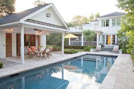 Small Pool House Long SMALL HOUSES
