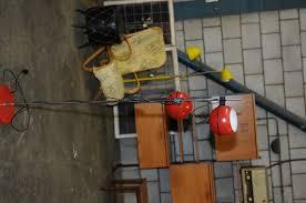 Staande Lamp Met Twee Rode Bollen Verstelbaar Jaren 70 Woonhome