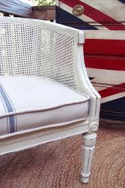 some of my favorite things cane chairs with grain sack seats shades of blue interiors