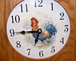 Country Kitchen Wall Clocks Country Kitchen Wall Clocks Home Design Ideas