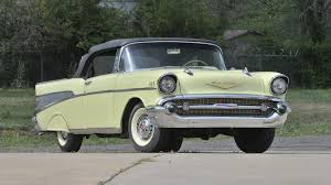 1957 Chevrolet Bel Air Convertible | S110 | Salmon Brothers ...