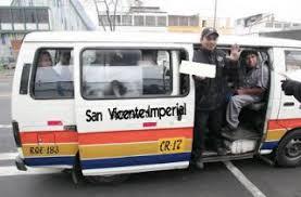 Resultado de imagen para fotos del consorcio de transporte San Vicente-Imperial de cañete
