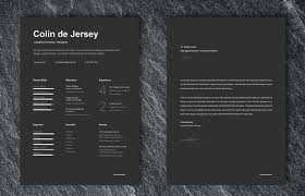 025 Contemporary Resume Templates Free Template Ideas Colin