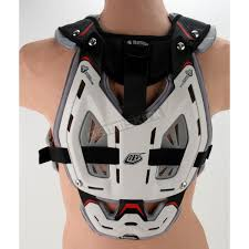 Troy Lee Designs Protection White Large Troy Lee Designs Shock Doctor Cp5955 Chest