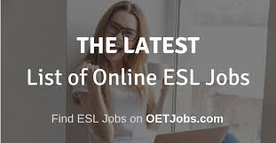 Latest Online Esl Teaching Jobs Oetjobs