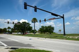 Blue Traffic Light In Florida New Traffic Lights On Base Macdill Air Force Base