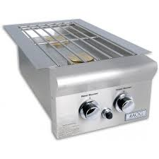 american outdoor grill drop in propane double side burner