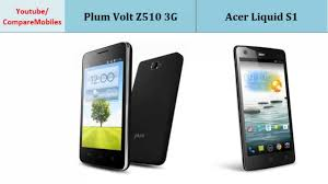 Plum Volt Z510 3G Vs Acer Liquid S1 ...