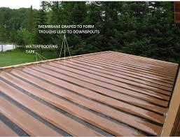 deck waterproofing system