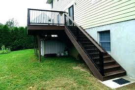 building a deck cost to build stairs composite price s70