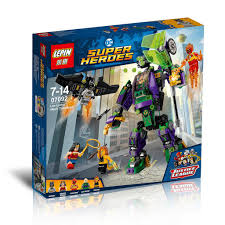 bela super heroes lex luthor mech takedown building blocks set bricks movie classic kids toys marvel compatible legoe