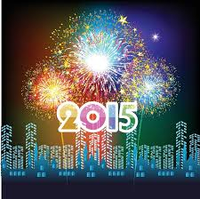new years fireworks white background 2015. Throughout New Years Fireworks White Background 2015 Colourbox