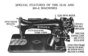 Singer Sewing Machine 201 2
