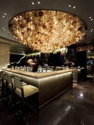 lighting for restaurant. nobu restaurant perth australia lighting for