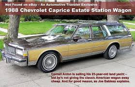 Traveler Magazine: 2011 08 1988 Chevrolet Caprice Station Wagon Page 1