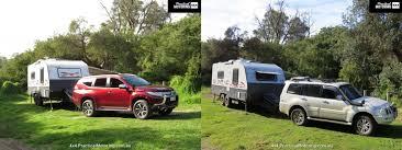 Tow Comparison Mitsubishi Pajero Vs Mitsubishi Pajero