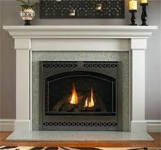 gas fireplace surrounds ideas mantel tile surround mantels