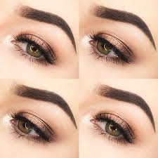 hottest eye makeup trends for 2018 simple copper eyes it s time to check out
