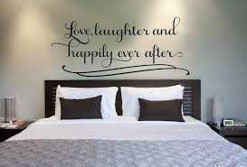 romantic bedroom wall decals. Love Laughter And Happily Ever After.. Couples Romantic Bedroom Vinyl Wall Decal Sticker Art Decals E