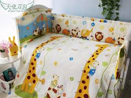 100 cotton 4 10 piece set baby bedding sets crib bedding set for new born